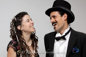 Hire a photo booth to capture your New Year Eve party