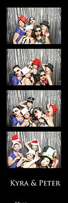 wedding photo booth strips