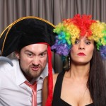 Engagement party photo booth hire
