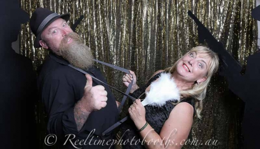 50th Birthday party photo booth hire in Perth