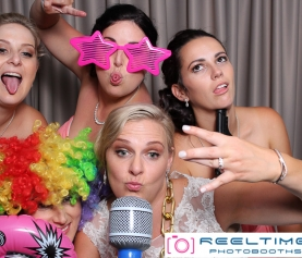 Joondalup Resort wedding photo booth hire
