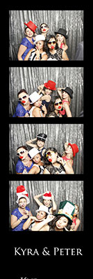 wedding photo booth strips