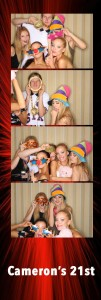 21st Birthday Party Photo Booth hire Perth