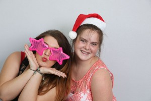 Christmas Photo booth fun