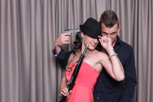 Hire a photo booth for your Valentine's day party