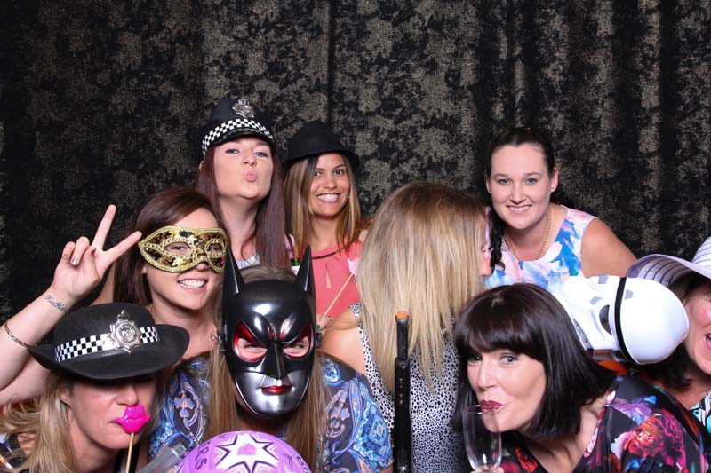 40th Rock star Photo Booth Party!