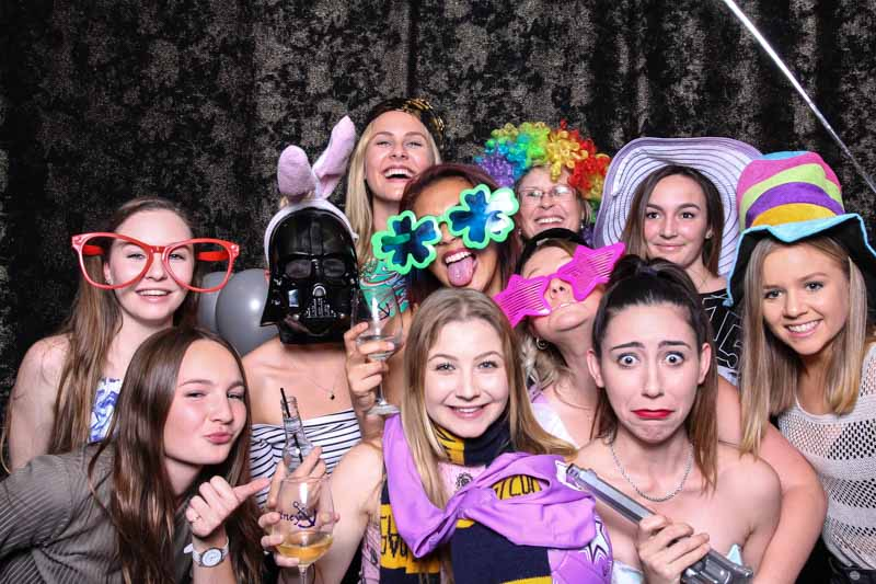 40th Birthday Party Photo Booth Hire