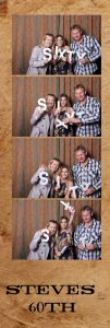 60th Photo Booth Hire