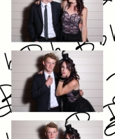 Hired photo booths are a great entertainment idea for your New Year Eve party